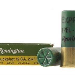 REMINGTON EXPRESS 12 GA. BUCKSHOT 2 3/4 000BK